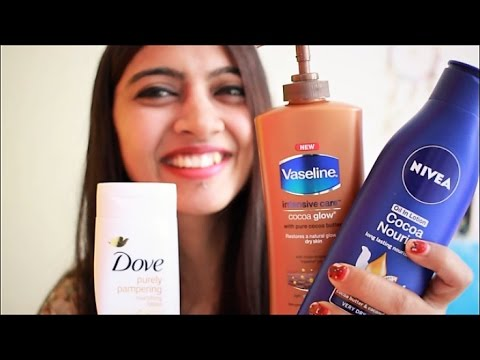 Budget Beauty #3: ___  BEST Winter Body Lotion in India ___ | (SuperWowStyle)