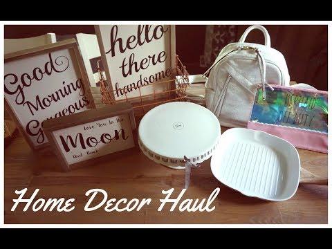 Rustic Home Decor Haul   TJ Maxx, Home Goods, Hobby Lobby, Target