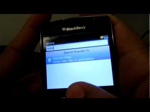 How to speed up a Blackberry Smartphone