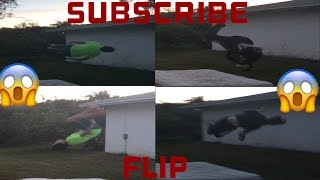 THE BEST FLIPS EVER!!!😷