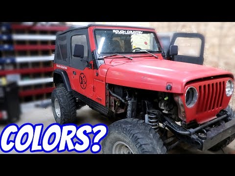 What Color Should I Paint The Jeep