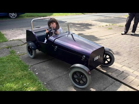 Grandad Transforms Mobility Scooter Into Racing Car