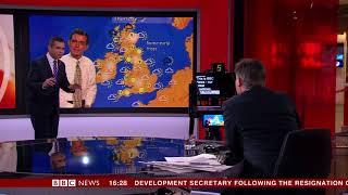 BBC News Channel at 20: Ben Rich Weather (Daniel Corbett)