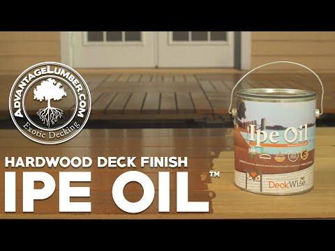 Hardwood Deck Finish - Ipe Oil™ Benefits