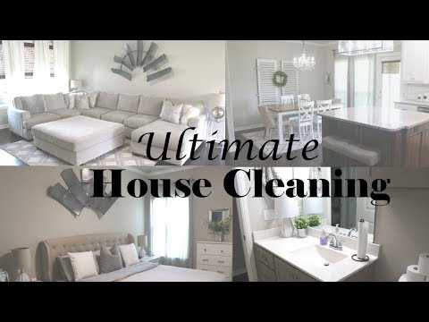 ULTIMATE CLEAN WITH ME | ENTIRE HOUSE | EXTREME CLEANING MOTIVATION