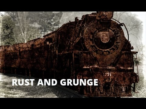 Rust and Grunge Photoshop Action