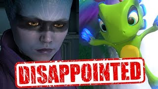 Top 10 - Disappointing games of 2017