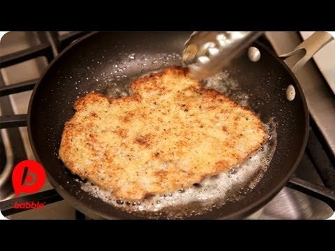 How to Make Breaded Chicken | That's Fresh with Helen Cavallo | Babble