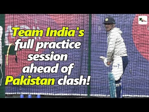 Xxx Mp4 Watch Indian Cricket Team 39 S Practice Session At A Glance Ahead Of Pakistan Clash ICC CWC 2019 3gp Sex