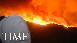 A Wildfire In Southern California Has Forced Thousands To Evacuate: See The Latest Footage | TIME