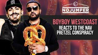 Boyboy West Coast and Adam22 discuss the Nav Pretzel Conspiracy