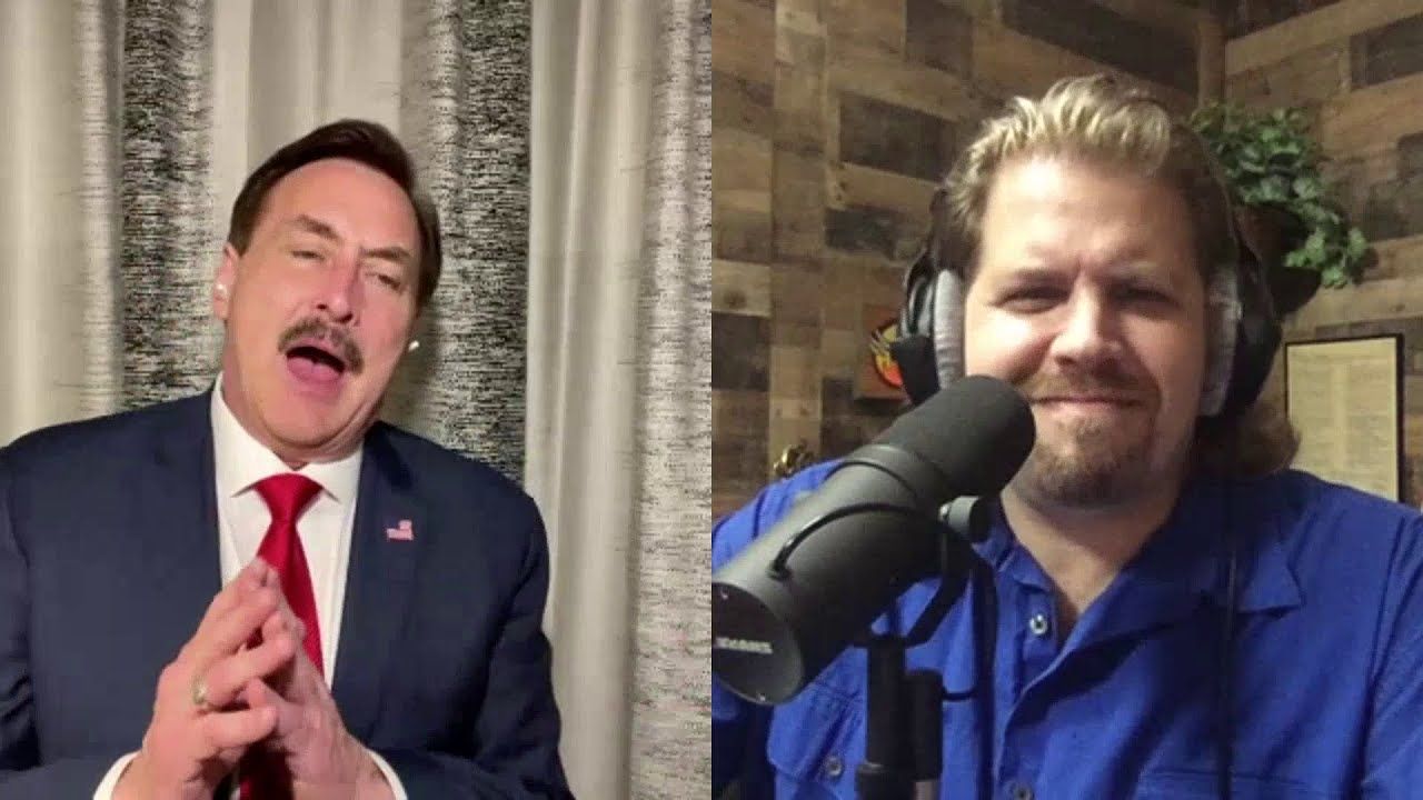 "Roy Fields interviews the ""My Pillow Guy"" Mike Lindell  [Part 1]"