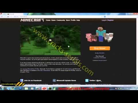 How to get Minecraft Premium Account for FREE-2013 November