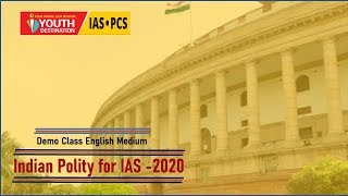 Indian Polity by Nitin Sir English Medium Lecture  3