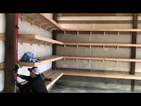 Amazing SpeedBrace Project | Garage Shelving