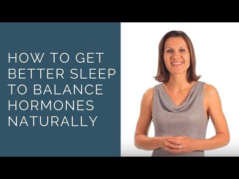 How to Get Better Sleep to Balance Hormones Naturally
