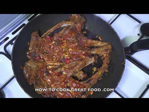 Piri Piri Lamb Chops Recipe Spicy bbq