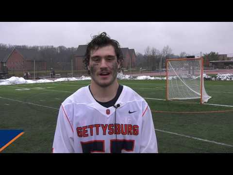 Gettysburg College Men's Lacrosse vs. F&M Highlights