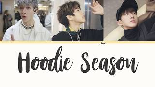 3RACHA 쓰리라차 - Hoodie Season Han Rom Eng Color Coded Lyrics