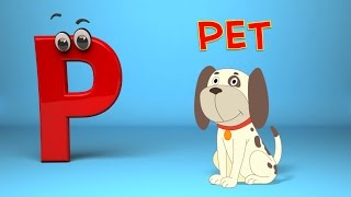 Phonics Letter P song