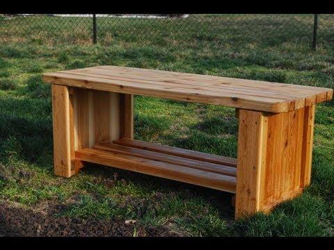 How to Make a Fire Pit Bench (woodlogger.com)