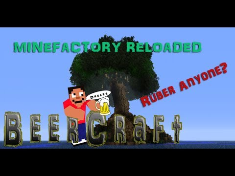 Grow A Rubber Tree They Said -  Minefactory Reloaded  - Sacred Rubber Sapling