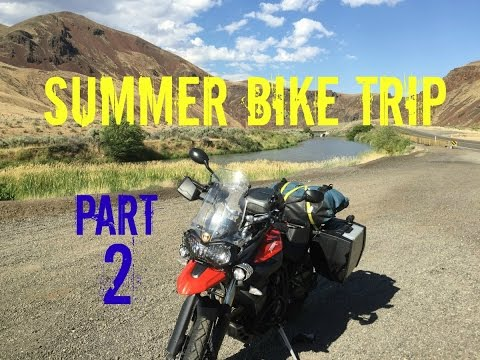 Riding in Wrong Lane & Where's the Twisties? - Summer Bike Trip Part 2
