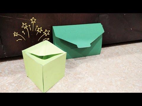 DIY- Exploding box packed in an Envelope | Enjoy Crafting # 35