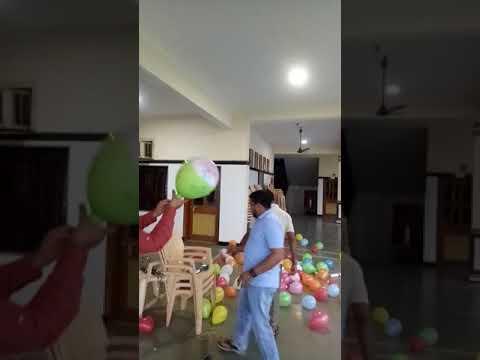 Balloon funny