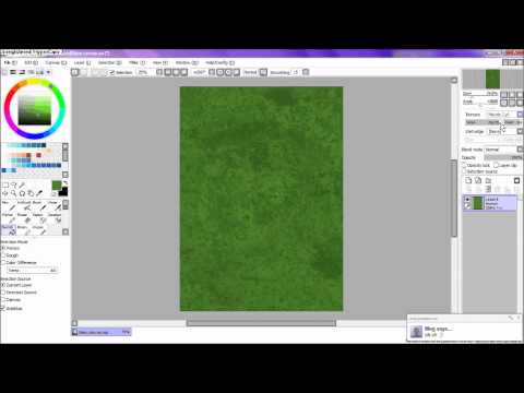 How to add brushes and texture to Sai