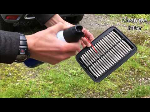 How to Clean and Maintain the Air Filter (on a Suzuki GSX650F)