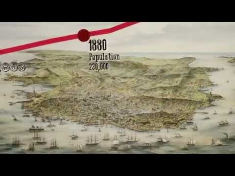 San Francisco Bay Area Booms: From the Gold Rush to Today in Just 217 Seconds | KQED News
