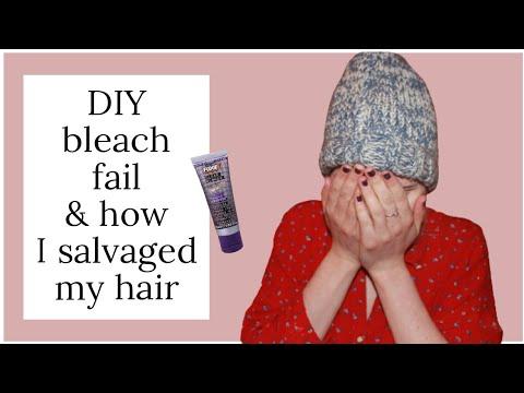 Bleaching FAIL | How To Fix Bright Orange & Yellow Hair