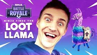 Ninja Finds The Loot Llama! - Fortnite Battle Royale Gameplay - Ninja