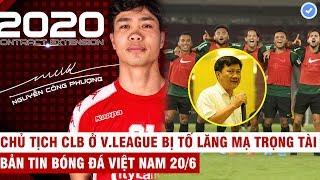 VN Sports 20/6 | Chính thức: Công Phượng không về HAGL ở lại TP.HCM, Indonesia đòi vô địch AFF Cup