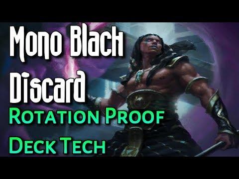 Mtg Deck Tech: Budget Mono Black Discard (Standard, Rotation Proof)!