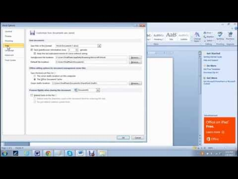 How-To Tutorial: Find/Recover Lost/Unsaved Microsoft Word Document/File AutoRecover