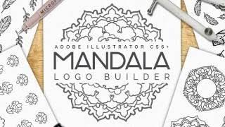 Making Mandala Logos In Illustrator How To Make Custom Patterns