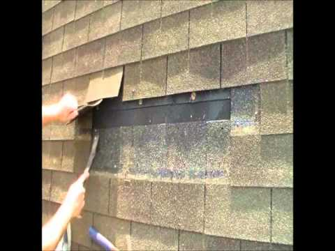 How to remove and replace asphalt shingles   roofing repair