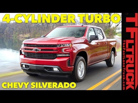Breaking News: Chevy Shocks Truck World With 2019 Silverado Powered by a 2.7L FOUR CYLINDER TURBO!