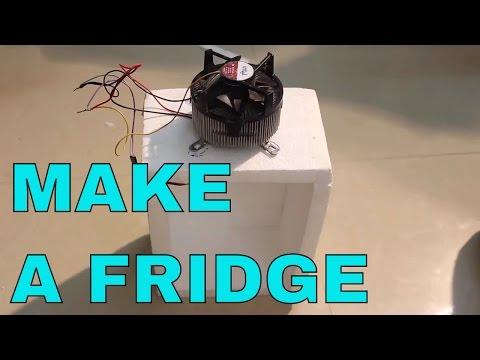 Make a mini portable Fridge