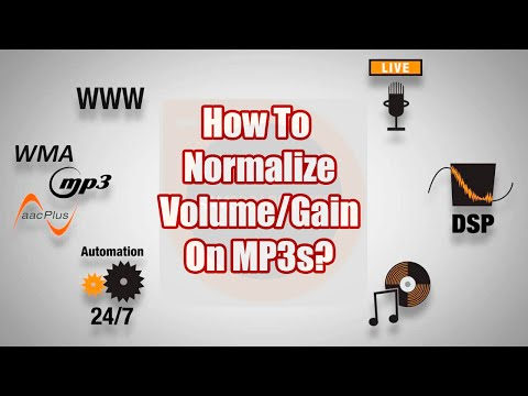 SAM Broadcaster-How To Normalize Volume On MP3 Files? - A SAM Broadcaster Tutorial