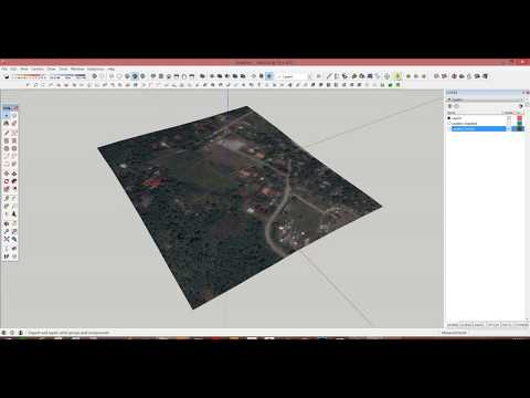 GENERATING CONTOURS IN SKETCHUP USING GEO LOCATION