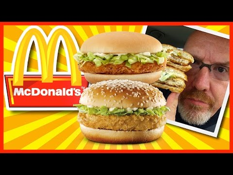 McDonald's McChicken Vs. Jr. Chicken Explained