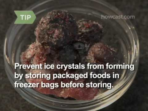 How to Freeze Food Properly