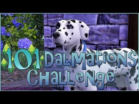 Sims 3    101 Dalmatians Challenge: Proposal at the Dog Park! - Episode #6
