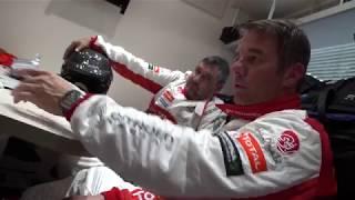 Sébastien Loeb testing the Citroën C3 WRC!
