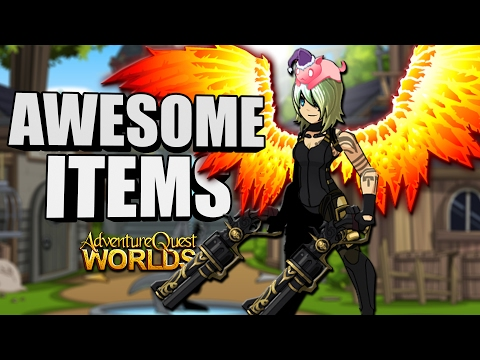 AWESOME NON-MEMBER ITEMS!!! (FREE AC SET) Easy Badge! AQW AdventureQuest Worlds