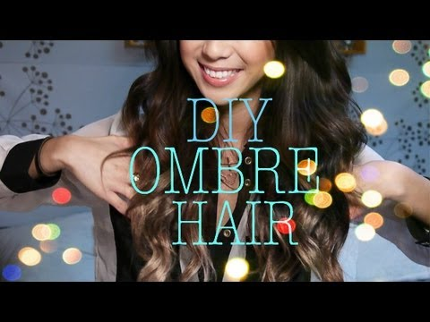 How to Ombre Your Hair and DIY Ombre Hair Extensions