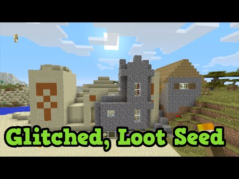 Minecraft Xbox 360 / PS3 GLITCH Temple - FREE Loot Seed